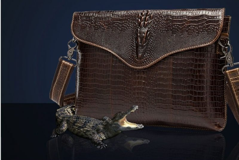 Túi Đeo chéo da thật cá sấu IP028