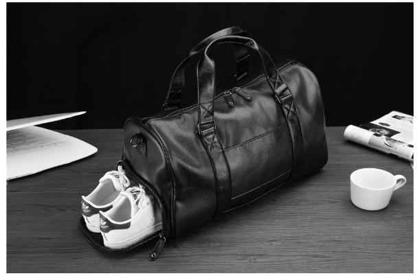 Túi da du lịch nam có ngăn đựng giày đựng quần áo du lịch TX060