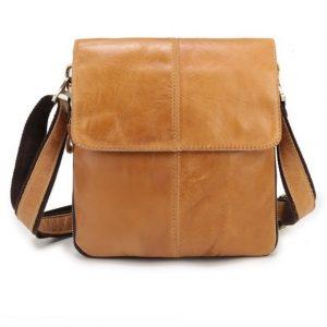 Túi đeo chéo nam da thật đựng IPad, Điện Thoại IP026